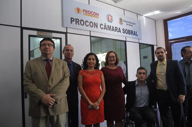 d9f8b1d44a5 Inauguração PROCON Câmara de Sobral.jpg. Foi inaugurado na manhã desta sexta -feira ...